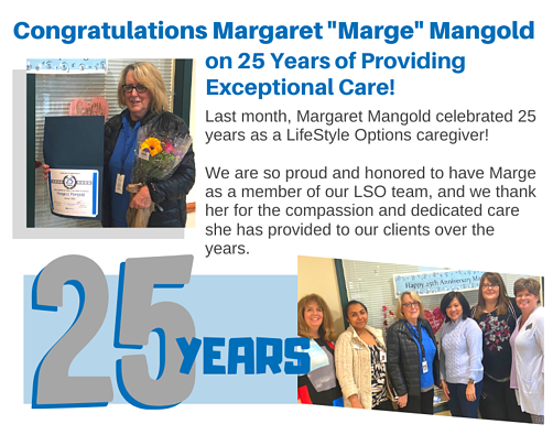 Congratulations Marge